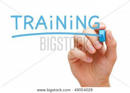 Training Blue Marker