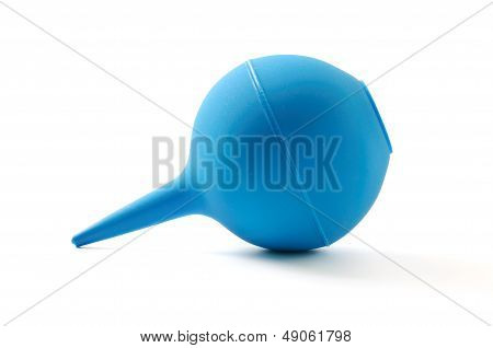 Blue enema
