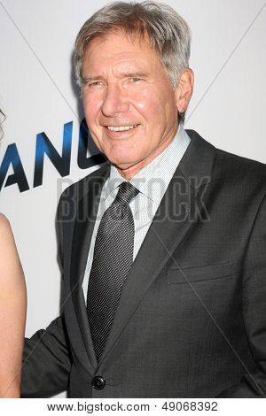 LOS ANGELES - AUG 8:  Harrison Ford arrives at the