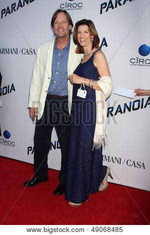 LOS ANGELES - AUG 8:  Kevin Sorbo, Sam Sorbo arrives at the