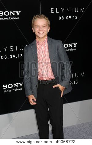 LOS ANGELES - AUG 7:  Maxwell Perry Cotton arrives at the