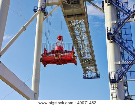 Big Industrial Crane