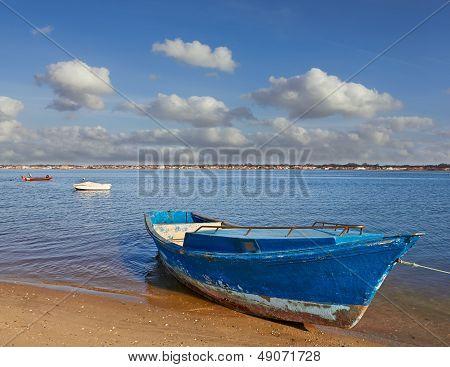 Boats At The Lagoon