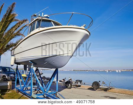 Boat On Repair