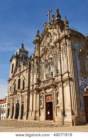 Two Portuguese Churches In Porto