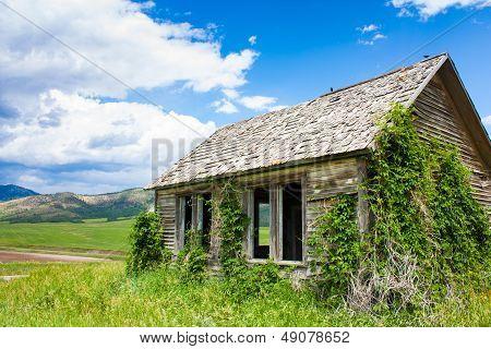 Abandoned Farmstead In Idaho