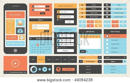 Platte Ui Design Kit