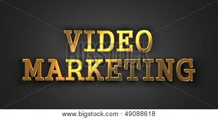Video Marketing. Business Concept.