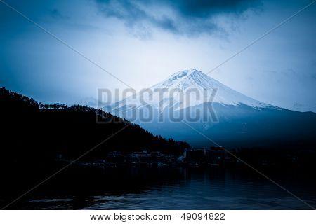 Mount Fuji ,landmark of japan.
