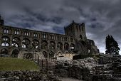 Jedburgh Abbey - Tourists Attraction poster