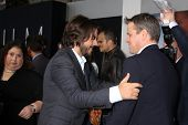 LOS ANGELES - AUG 7:  Diego Luna, Matt Damon arrives at the