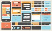 Flat Ui Design Kit