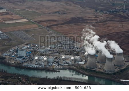 French power plant