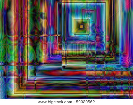 Abstract multicolor background illustration