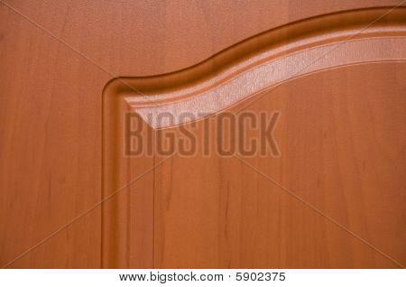 Cherry wood furniture top left curve