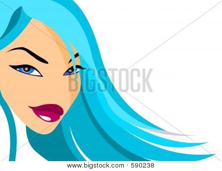Fashion Doll Face