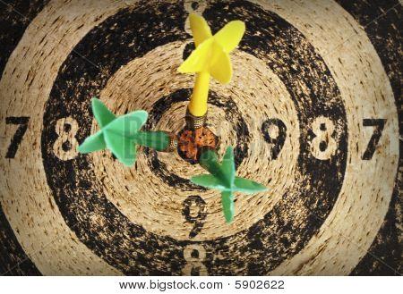 Used Dart Target