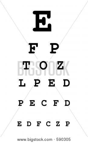 Eye Test Chart