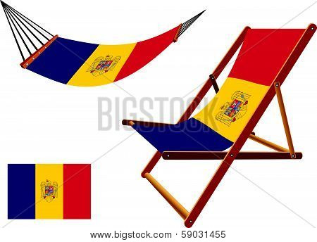 Romania Hammock And Deck Chair Set