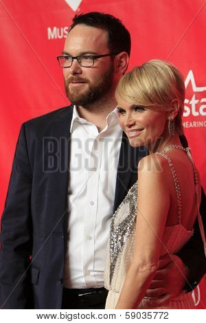LOS ANGELES - JAN 24:  Kristin Chenoweth, Dana Brunetti at the 2014 MusiCares Person of the Year Gala in honor of Carole King at Los Angeles Convention Center on January 24, 2014 in Los Angeles, CA