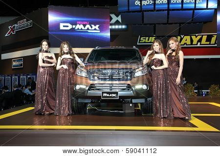 Nonthaburi - November 28: Isuzu Mu-x Car With Unidentified Modes On Display At The 30Th Thailand Int