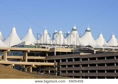 Denver International Airport Peaks And Parking Garage