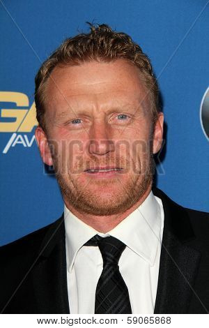 LOS ANGELES - JAN 25:  Kevin McKidd at the 66th Annual Directors Guild of America Awards at Century Plaza Hotel on January 25, 2014 in Century City, CA