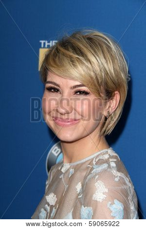 LOS ANGELES - JAN 25:  Chelsea Kane at the 66th Annual Directors Guild of America Awards at Century Plaza Hotel on January 25, 2014 in Century City, CA