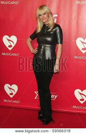 LOS ANGELES - JAN 24: Mindi Abair at the 2014 MusiCares Person Of The Year event at the Convention Center on January 24, 2014 in Los Angeles, CA