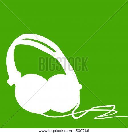 Headphones Outline