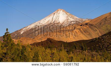 Majestic Volcano Teide