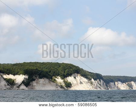 Cliff Coast On The Island Of Ruegen In Germany