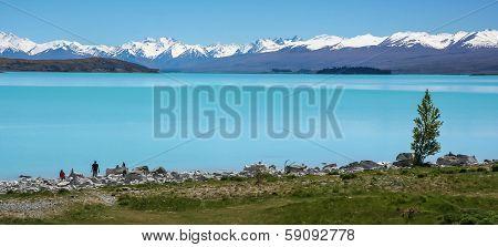 Lake Punakaiki, New Zealand