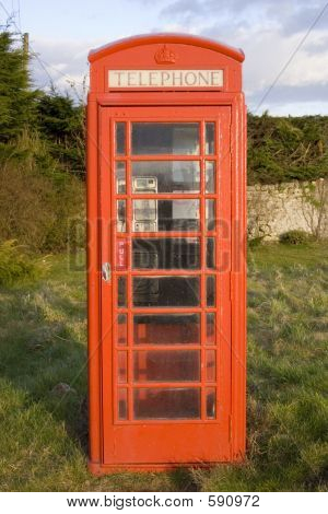 Rural Telephone Box, UK.
