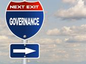 Governance road sign