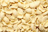 image of pene  - Background image of homemade italian pasta background - JPG