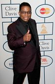 BEVERLY HILLS, CA. - JANUARY 25: Herbie Hancock arrives at the Clive Davis and The Recording Academy