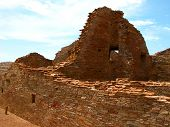 stock photo of pueblo  - Chaco Culture National Historic Park is located in northern New Mexico and features pueblo dwellings dating back 1 - JPG