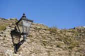 Lamp on Castle Walls