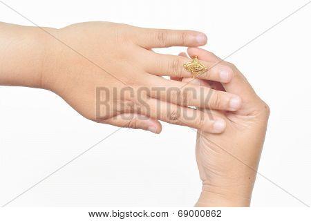 Beautiful Golden Rings