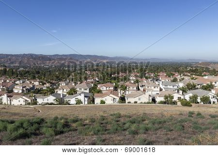 Simi Valley bedroom community near Los Angeles in Ventura County California.