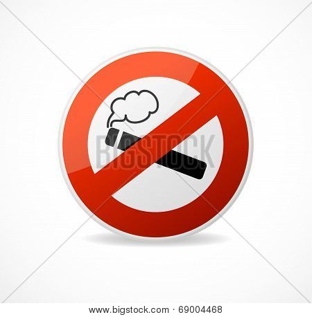 Vector No Smoking Sign
