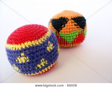 Hackysacks Or Footbags