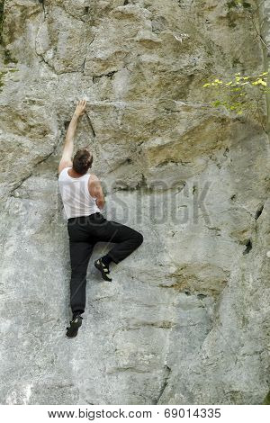 Climbing In The Nature