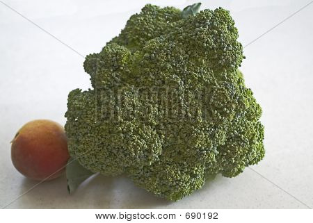 Broccoli And Peach