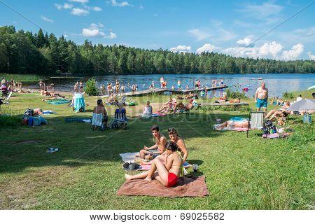 Hot summer in Sweden