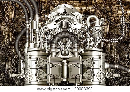 Two-cylinder Engine