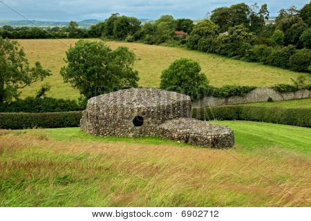 Stone Hut At Newgrange