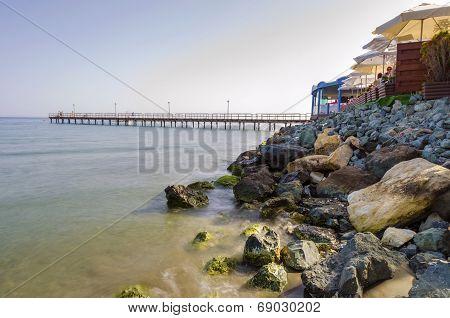 Enaerios Pier, Limassol, Cyprus