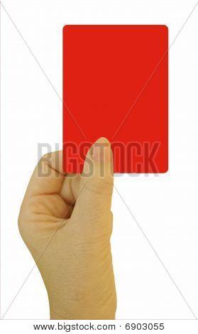 Red card ultimatum